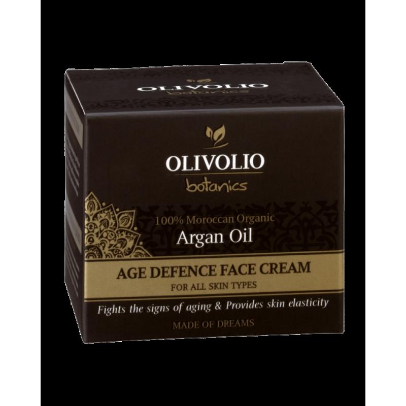 Argan Oil Age Defence Face Cream 50 мл | Olivolio