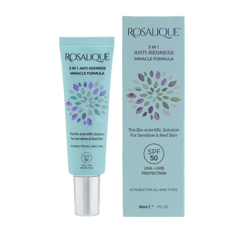 Rosalique 3 in 1 Anti-redness Miracle Formula SPF 50 30 ml